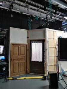 Bau ders Filmsets
